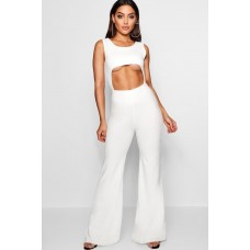 BOOHOO Cut Out Wide Leg Jumpsuit Favorite welcome Please select DZZ16964