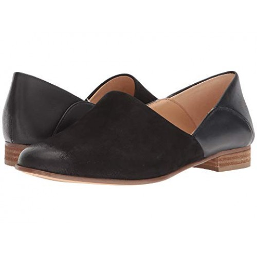 Women Clarks Pure Tone Soft synthetic lining for added comfort Black Combination 8992026 OCSIJPX