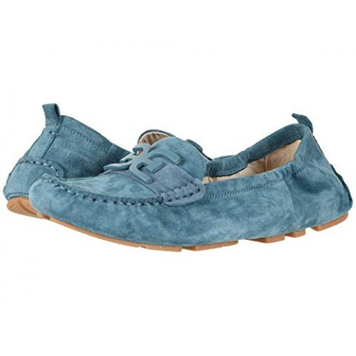 Women Sam Edelman Farrell Soft synthetic lining for added comfort Denim Blue Kid Suede Leather 9031113 YQTKOIN