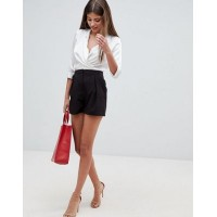 Women ASOS DESIGN tailored a-line shorts with pleat front More stylish and elegant Cute right? 1289128 DKNNYWX