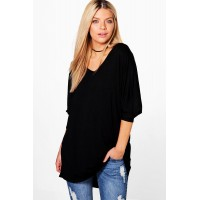 Long Sleeve Oversized T-Shirt Comfortable elegant and beautiful Please select DZZ65784
